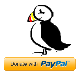 puffin and paypal button